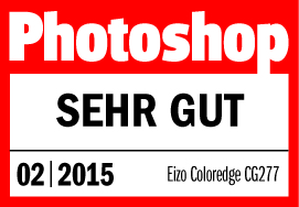 "02/2015 | Photoshop - Testurteil ""Sehr gut"""